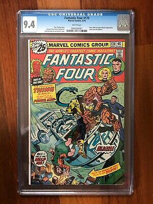 Fantastic Four #170 CGC 9.4 White Pages