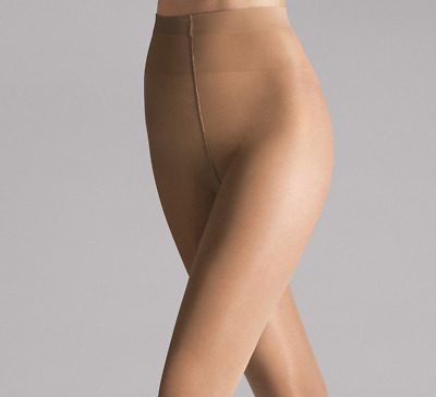 efdfe247c Wolford Women s Pure 30 Complete Support Tights 30 Denier XLarge Caramel  Nude