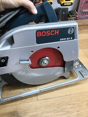 BOSCH GKS 85 S CIRCULAR SAW 240V Mint Condition