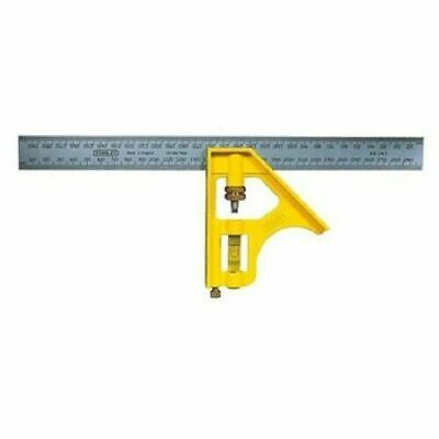300mm Stanley 46-143 Measure Combination Right Angle Square Ruler Meter Work_IA