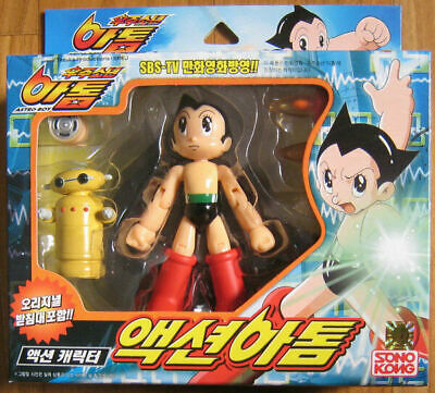 Action AStro Boy Atom Figure Animation Display Toy Vintage Classic_IA