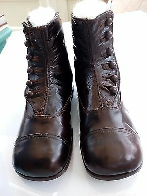 Antique Childs/Baby Boots (Never Been Worn)