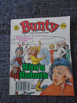 Bunty Picture Story Library # 335, Rita's Robots