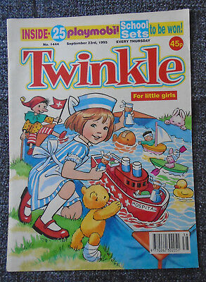 Twinkle Comic With Playmobil School Set Competition, # 1444 Sep 23 1995
