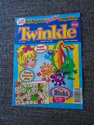Twinkle Comic With Barbie Rapunzel Competition, # 1596 Aug 22 1998