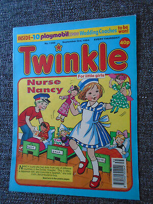Twinkle Comic With Playmobil 1900 Wedding Coach Competition, # 1389  Sep 3Rd '94