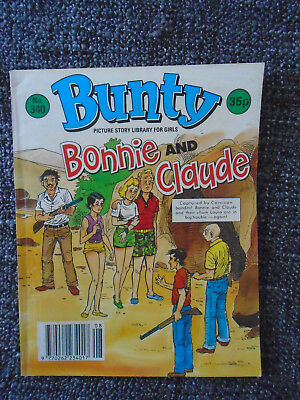 Bunty Picture Story Library # 340 Bonnie And Claude