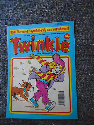 Twinkle Comic With Playmobil Family Mansion Competition, # 1297 Nov 28, 1992
