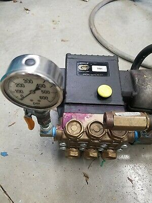 GENERAL T991/ Interpump W99 Pressure WASHER PUMP WITH DIRECT DRIVE MOTOR - Used