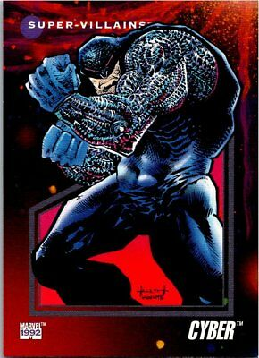 1992 Impel Marvel Universe III Card #117 Cyber