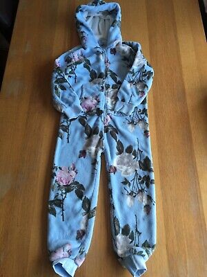 Gorgeous Floral Next Fleece All-in-one Age 7 Years