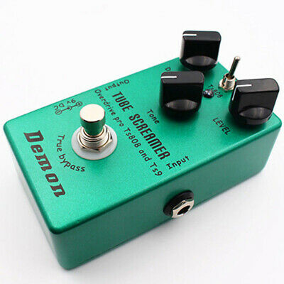 Upgraded Effect Pedal Distortion Green TS9 Overdrive Screamer 2018 Brand New