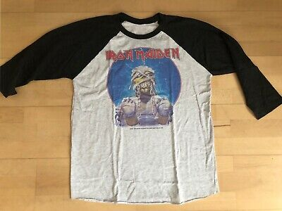 Iron Maiden 1984 Tour Shirt Powerslave