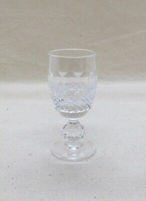 Waterford Crystal  Colleen Short Stem Cordial 1 oz 3 1/4 inches