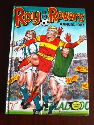 Roy Of The Rovers Annual 1987.