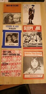 Job lot vintage sheet music