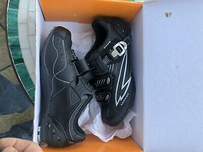 Women/'s Road Bike Shoes Black Serfas Podium SPD SPD-SL SPD-R Size EU-38 US-7 New
