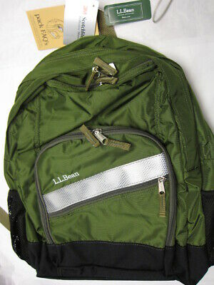3df94578d7 LL BEAN DELUXE Book Pack - Canoe Green Print - NWT - Free S+H ...