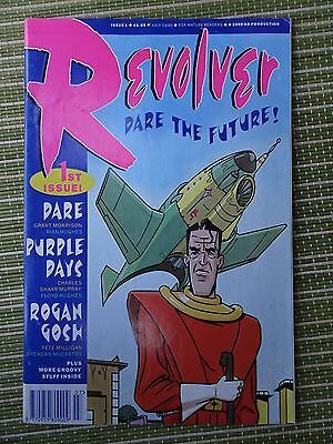 Revolver #1 Jul 1990 2000AD production FN+