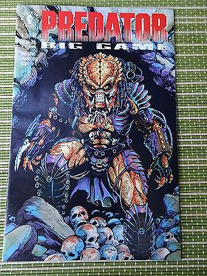 Predator Big Game #1 (of 4) Dark Horse 1991 NM- (With Trading Cards)