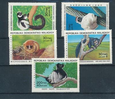 [32741] Madagascar 1983 Fauna Wild Animals Good set VF MNH stamps