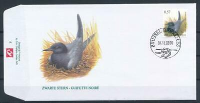[G12368] Belgium 2002 Birds BUZIN good very fine FDC