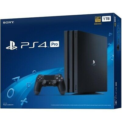 Consola Sony Ps4 Play 4 Pro 1Tb Negra Envío 24/48 Horas