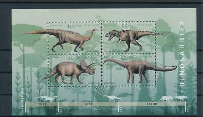 [G119420] Germany 2008 Prehistoric Fauna good Sheet very fine MNH