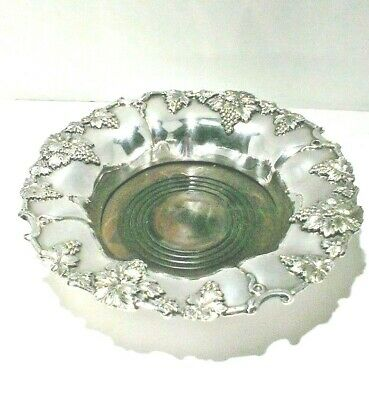 19th CENTURY  Old Sheffield Plate (  Fused Silver ) Wine Bottle Coaster