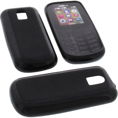 Protective case for Nokia 130 2017 rubber TPU mobile phone cover black