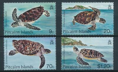 [15658] Pitcairn Isl 1986 : Turtles - Good Set of Very Fine MNH Stamps