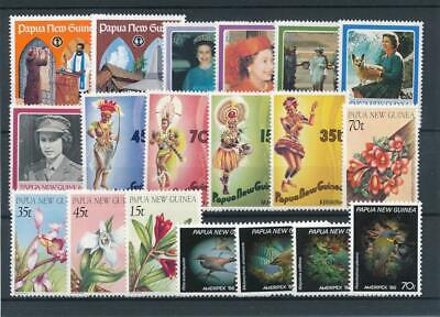 [15660] Papua New Guinea : Good Lot of Very Fine MNH Stamps