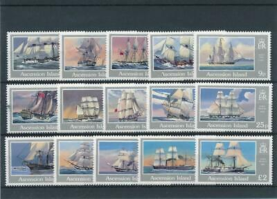 [15728] Ascension Isl 1986 : Boats - Good Set of Very Fine MNH Stamps - $40