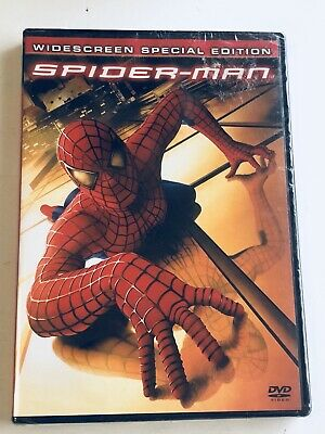 Spider-Man (DVD, 2002, 2-Disc Set, Widescreen Special Edition)