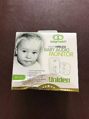 Uniden BW120 Digital Wireless Baby Audio Monitor