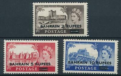 [51054] Bahrain 1955 good set MH Very Fine stamps