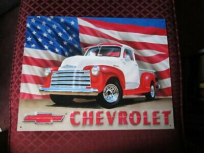 tin metal gasoline service station man cave advertising decor gas oil 51 chevy