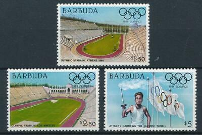 [51097] Barbuda 1984 Olympics good set MNH Very Fine stamps