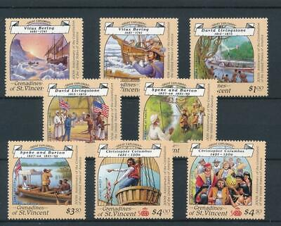 [51370] Grenadines 1992 Boats Columbus good set MNH Very Fine stamps