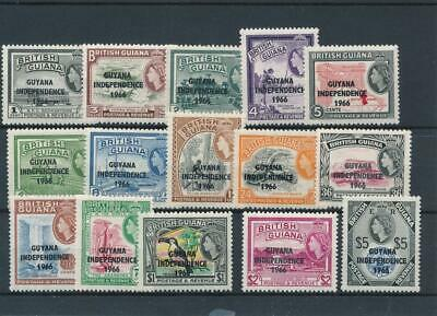 [51384] British Guiana 1966-67 good set MNH Very Fine stamps