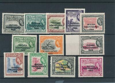 [51385] British Guiana 1966-67 good set MNH Very Fine stamps