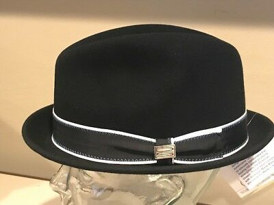 bb0207c1015 Bollman Bailey Quality LiteFelt Crushable Fedora Wool Hat Cap Large USA   100 +