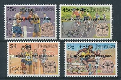 [51578] Jamaica 1988 Olympics good set MNH Very Fine stamps