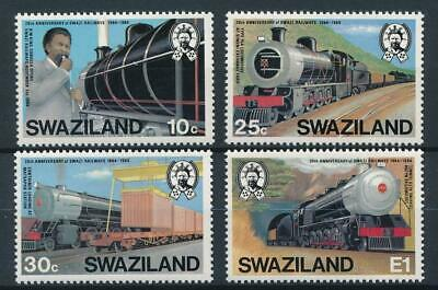 [51712] Swaziland 1984 Trains good set MNH Very Fine stamps