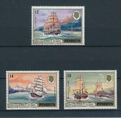 [51925] Penrhyn Island 1981 Boats good set MNH Very Fine stamps $50