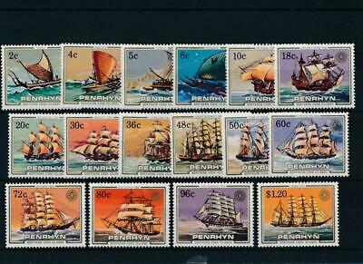 [51933] Penrhyn Island 1984 Boats good set MNH Very Fine stamps