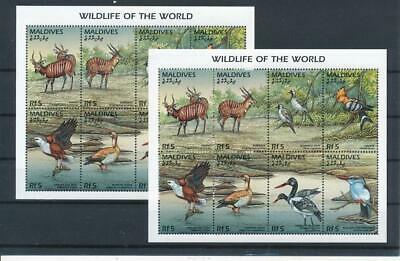 [G47730] Maldives : Fauna - 2x Good Very Fine MNH Sheet