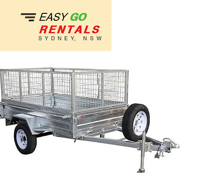 FOR HIRE - 7x4 Box Trailer - North Shore, Northern Beaches (DELIVERED)