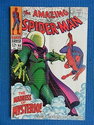 Amazing Spider-Man # 66 - (Fn-) -  The Madness Of Mysterio