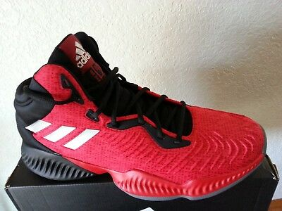 the latest c88c4 39e63 NEW Adidas Mad Bounce 2018 basketball shoes mens size 12 AH2693 Red
